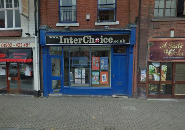 Interchoice Holidays shop front
