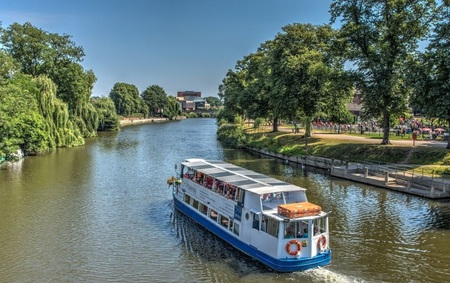 Shrewsbury & River Cruise Day Trip